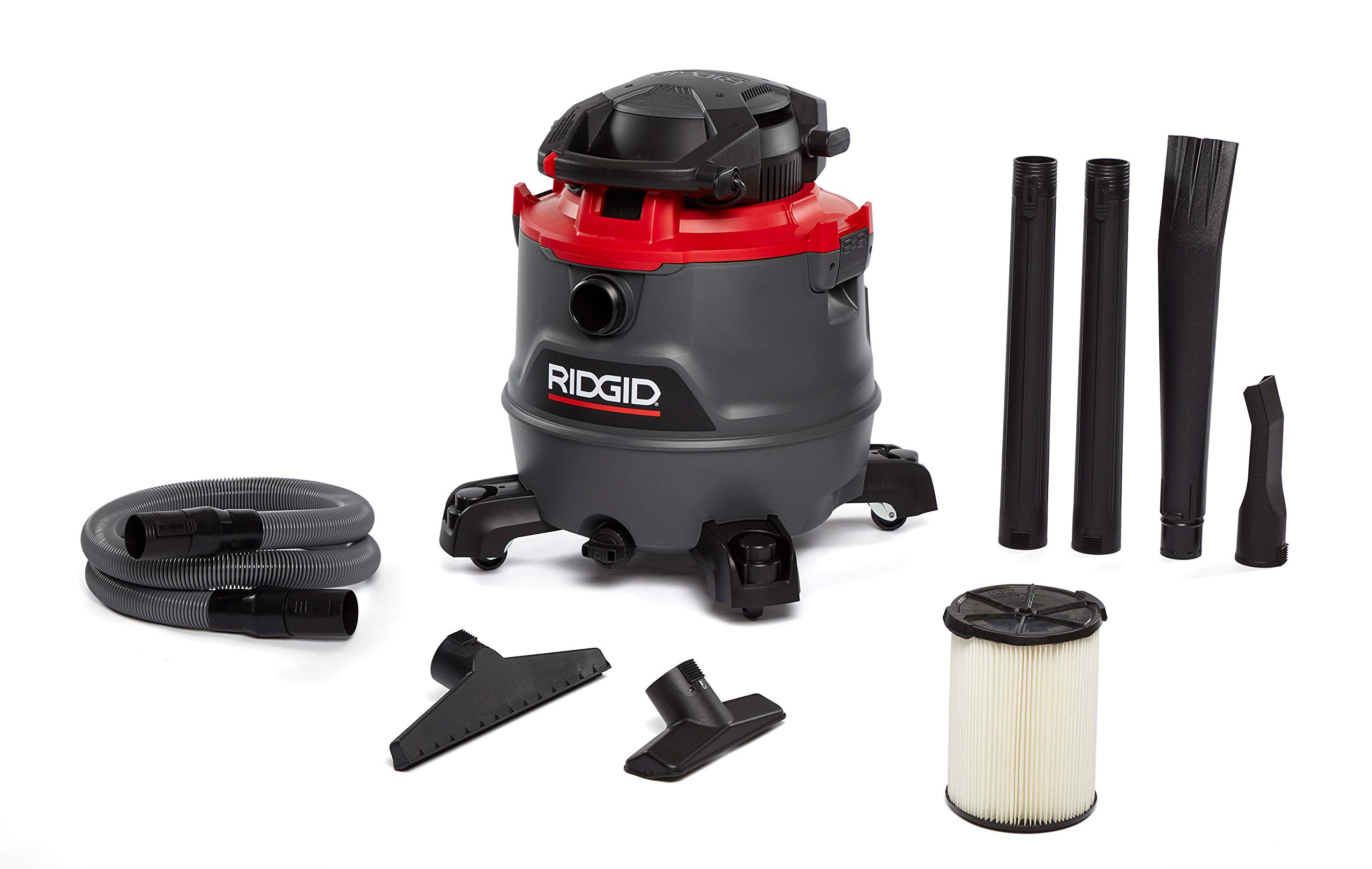 Ridgid 62723 Red 16 gallon RT1600 Wet/Dry Vacuum by Ridgid