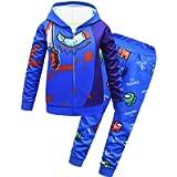 TOP Fighting Zipper Hoodie Sweater Among us Warm Fashion Sweatshirts Sweatpants for Boys Girls