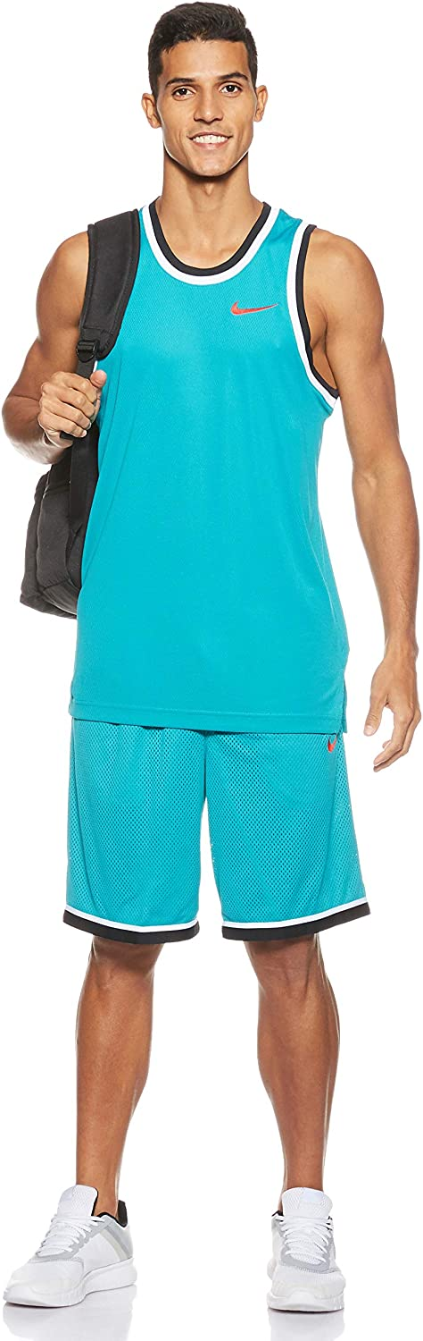 Nike Mens Fitness Workout Tank Top Blue M
