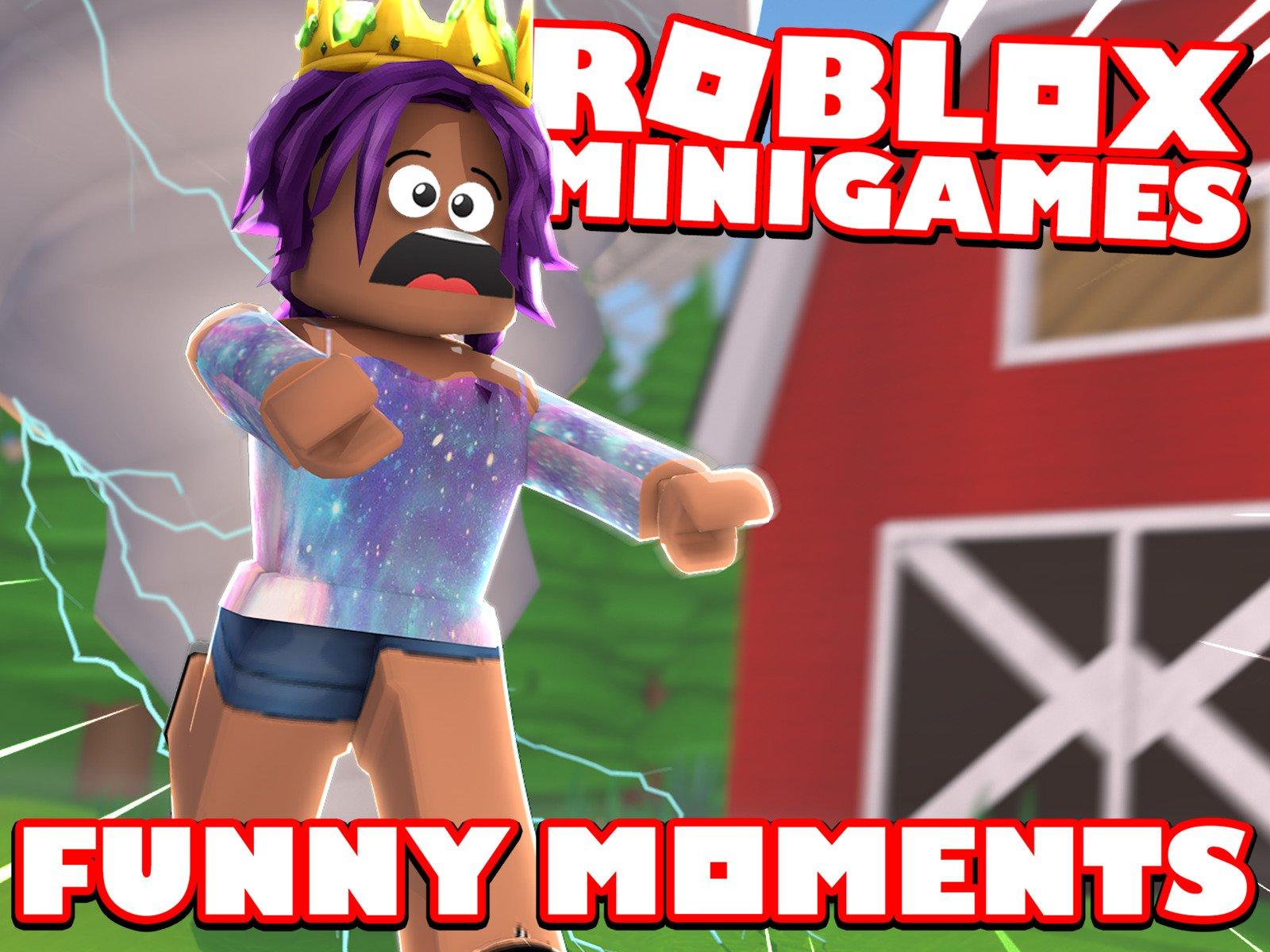 Roblox Mini Game Videos Watch Clip Roblox Minigames Funny Moments Prime Video