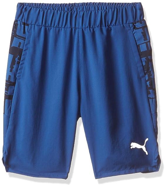 PUMA Active Sports AOP Woven Shorts B Pantalones Cortos, Niños ...