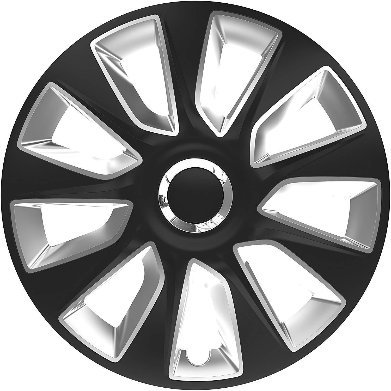 UKB4C 4 x Wheel Trims Strat Hub Caps 16 Covers fits Alfa Romeo Mito Giulietta
