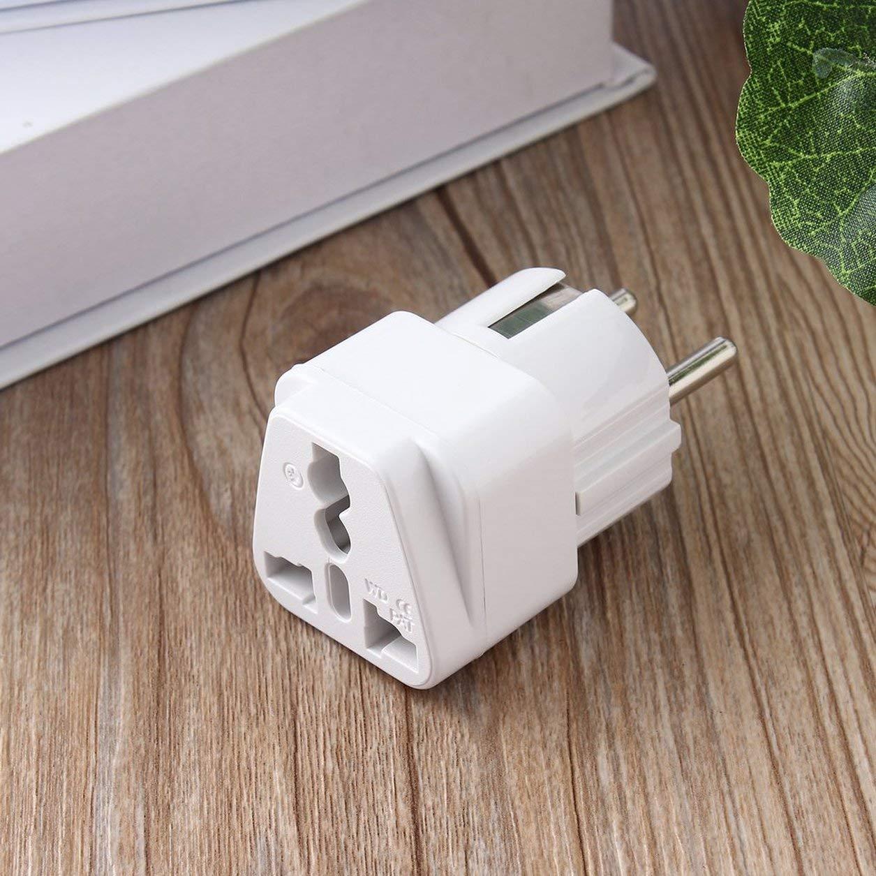 Universal AU US UK to EU AC Power Plug Travel Home Converter Adapter Dailyinshop