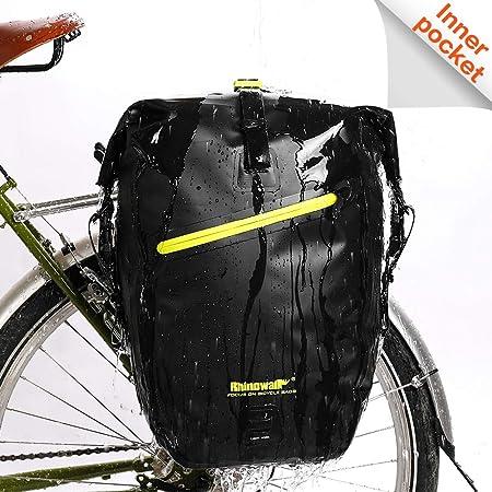 1pcs Rhinowalk Large Bicycle Pannier Rack Bag Waterproof Bag Bike Accessories