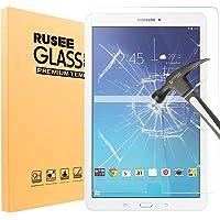 Rusee Galaxy Tab E 9.6 Displayschutzfolie, [0.3mm 2.5D 9H Härtegrad] Panzerglasfolie Hartglas Schutzfolie Gehärtetem Glas Schutzfolie Panzerglas Displayschutz für Samsung Galaxy Tab E 9.6 Zoll