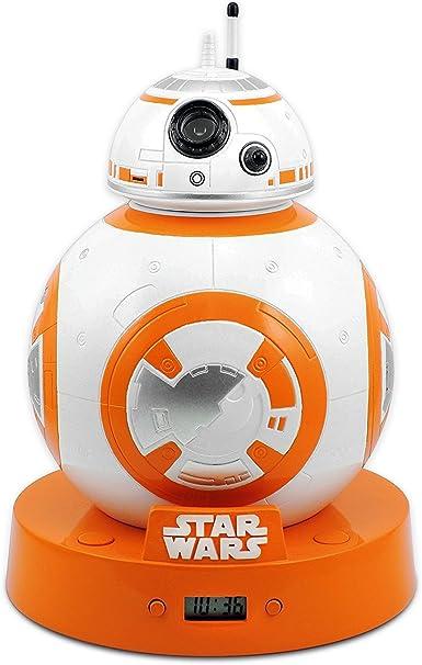 Star Wars Réveil avec Projection et Effets sonores BB 8
