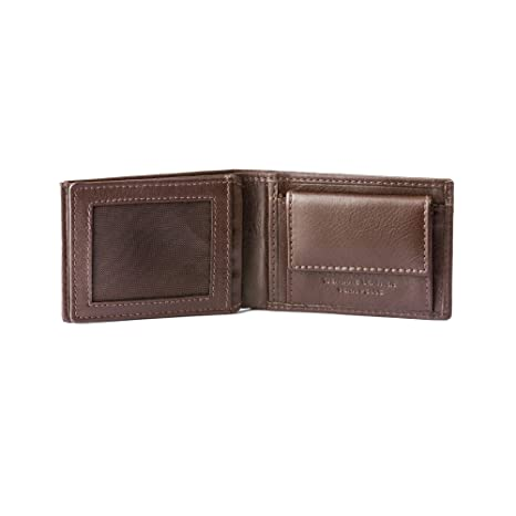 c7d1f4ec27af Amazon.com: DV Small Size mens Wallet in Genuine Leather with Coin ...