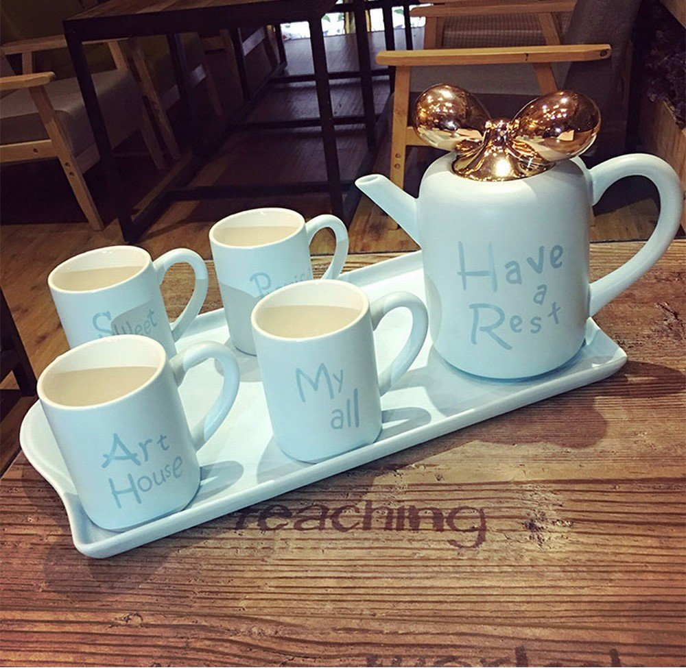 DHG English Bone China Coffee Cup Set European High-End Simple Afternoon Tea Tea Creative Household Ceramic Cup,C