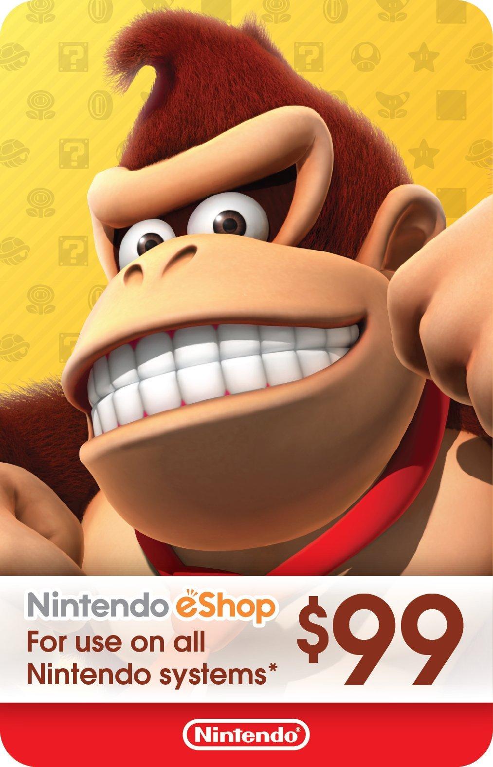 $99 Nintendo eShop Gift Card [Digital Code] by Nintendo