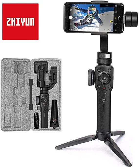 Zhiyun Smooth 4 (Última Versión) Estabilizador para Moviles, 3 ...