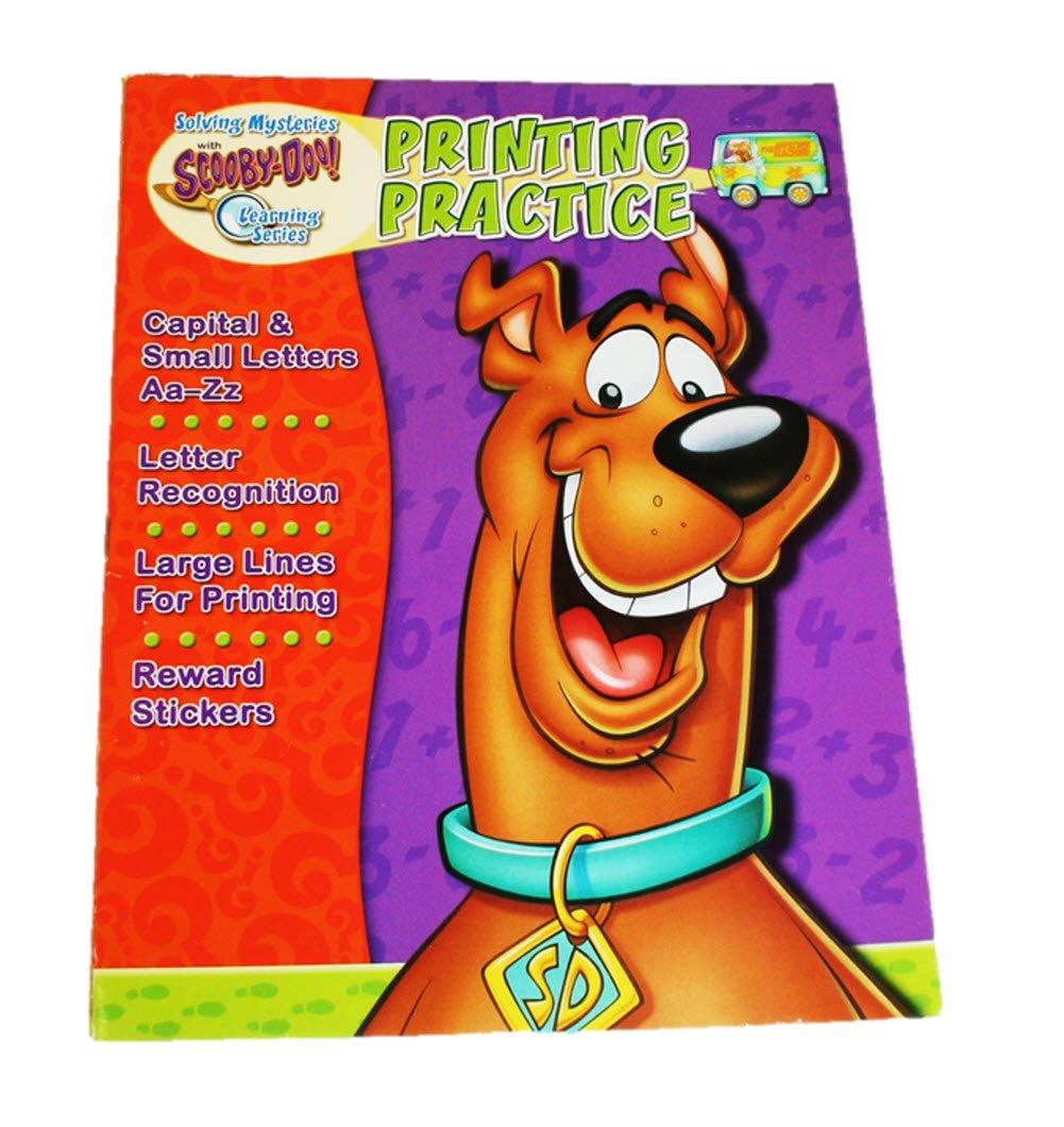 Read Online Scooby Workbooks w/Stickers - Printing Practice pdf