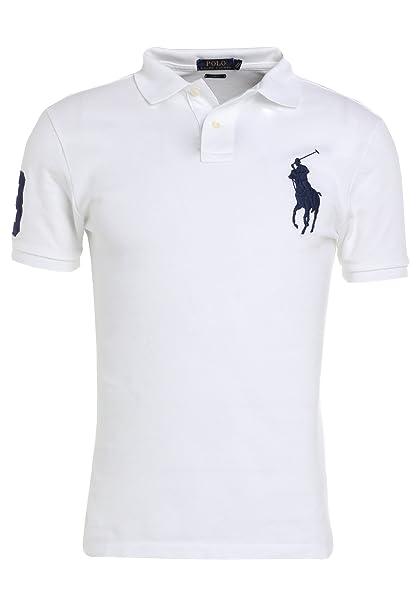 the best attitude 3dd38 2441c Polo Ralph Lauren Uomo Big Pony T-Shirt Polo Uomo Custom Fit ...