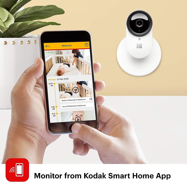 Cámara para bebés KODAK Cherish 120 con app móvil - Cámara para ...
