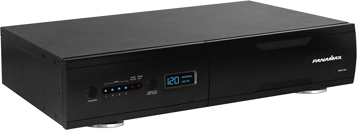 Panamax MX5102 Home Theater Power Management with Battery Backup