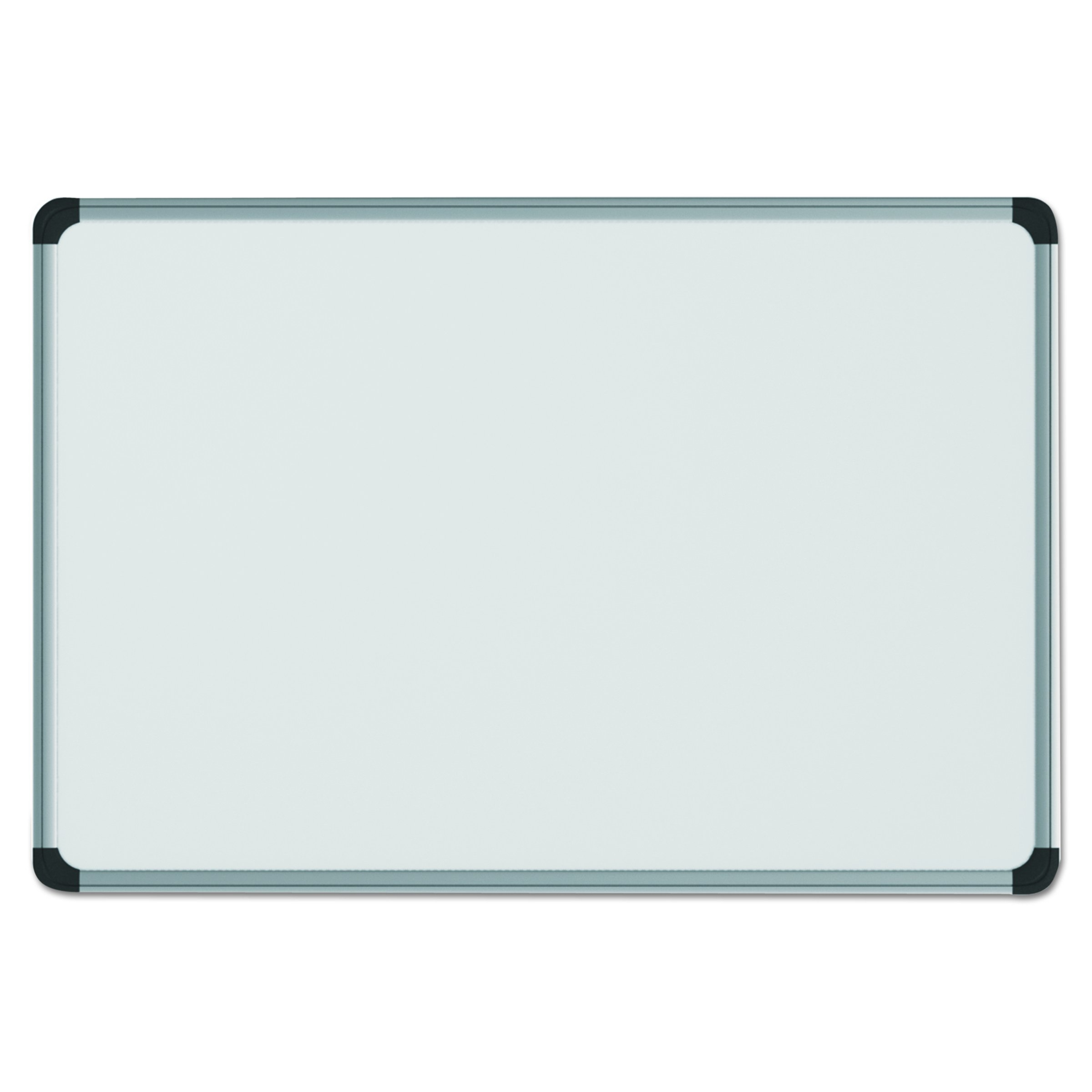 Universal 43735 Magnetic Steel Dry Erase Board, 72 x 48, White, Aluminum Frame by Universal One