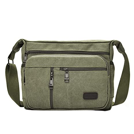 100% Quality 2019 Mens Bags Fashion Travel Canvas Shoulder Bags Sport Messenger Phone Bags Men Crossbody Satchel Storage Bags 100% High Quality Materials Engagement & Wedding