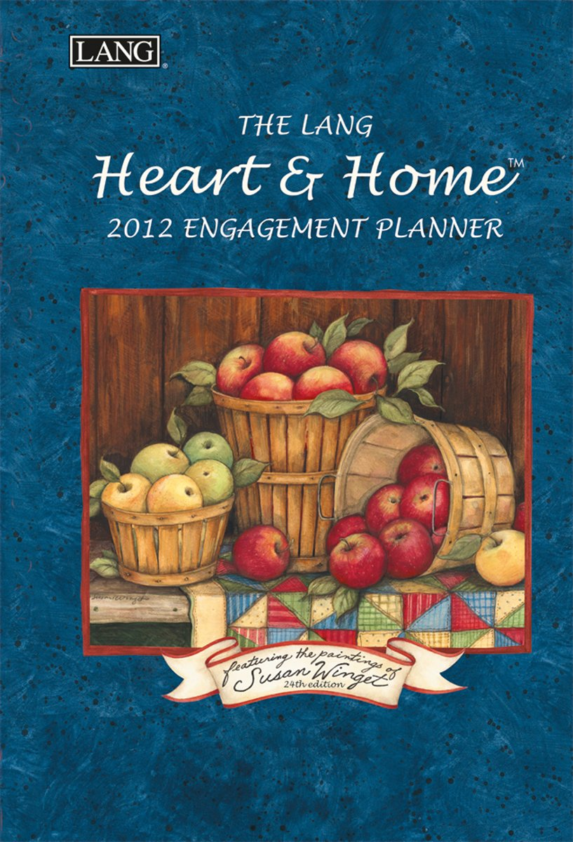 2012 Heart & Home Engagement Planner