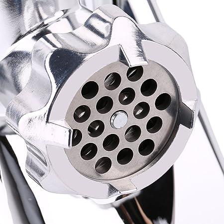 2800 W Picadora de Carne eléctrica, Fabricante de Salchichas (recipiente de acero inoxidable, trituradora continua, accesorios de la licuadora de plástico) ...