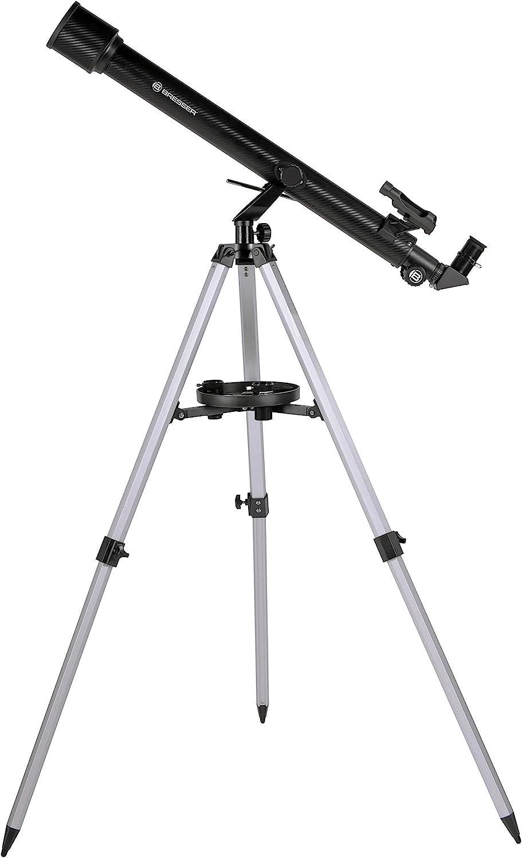 Bresser Stellar 60/800 AZ - Telescopio Refractor con Adaptador de ...