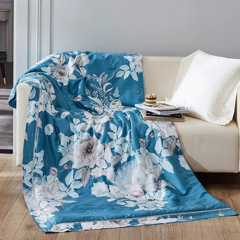 キルティングベッドカバー Lyocellの繊維はばね/夏/秋のための薄い慰める人の夏のキルトのエアコンのベッドのキルトを印刷しました (Color : 1#, Size : 220x240cm) B07TC7HHXN 1# 220x240cm