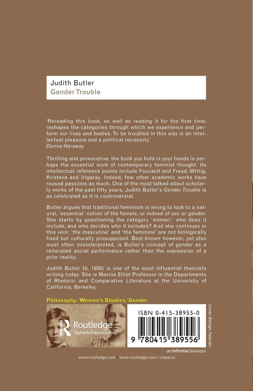 judith butler gender theory