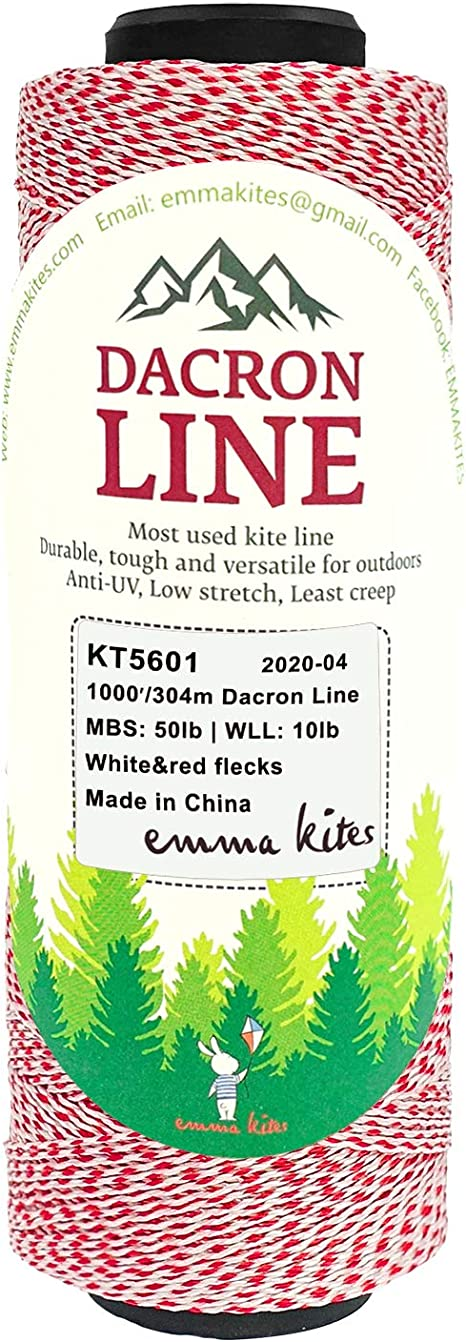 Dacron Lines 50lb 500lb Braided Kite String Multi-functional Outdoor Use for