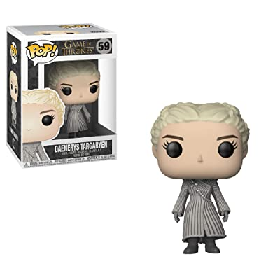 Funko POP! TV: Game of Thrones - Daenerys (White Coat): Funko Pop! Television:: Toys & Games