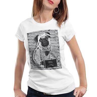 style3 Carlino Tatuaje Camiseta para Mujer T-Shirt Rock tatuarse ...