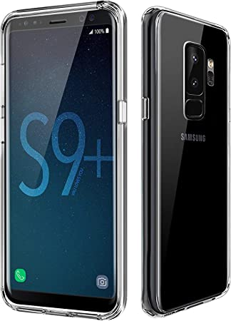 XTCASE Funda Samsung Galaxy S9 Plus S9+ Silicona Transparente ...