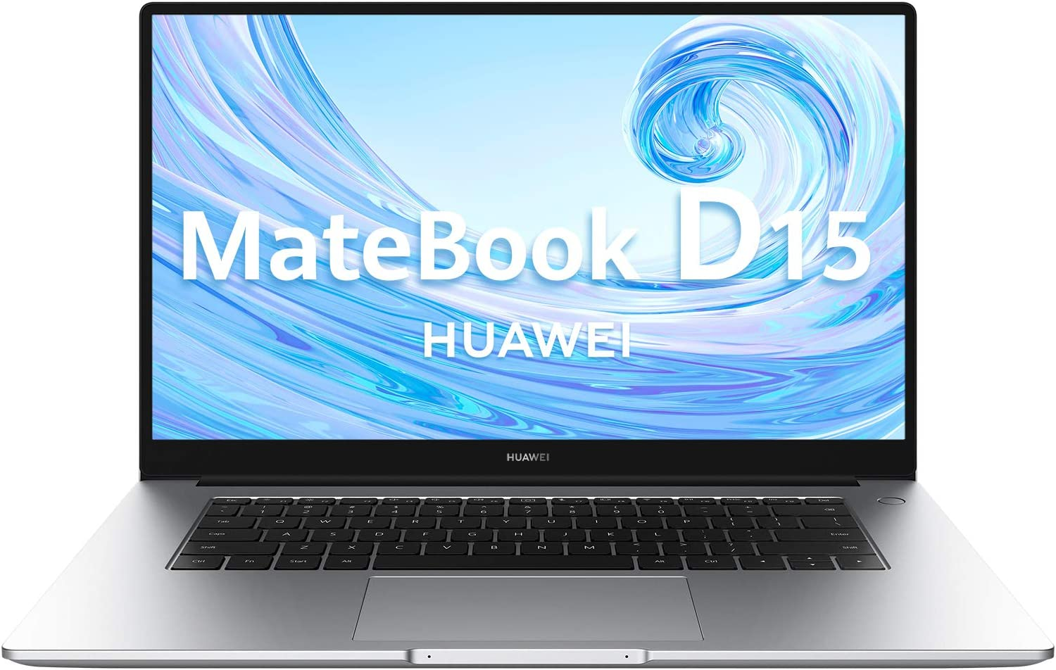 Huawei Matebook D15 - Ordenador Portátil de 15.6'' FullHD (AMD Ryzen 5 3500u, Multi-Screen Collaboration, 8GB RAM, 256GB SSD. Windows 10 Home), Mystic Silver, Teclado Qwerty Español