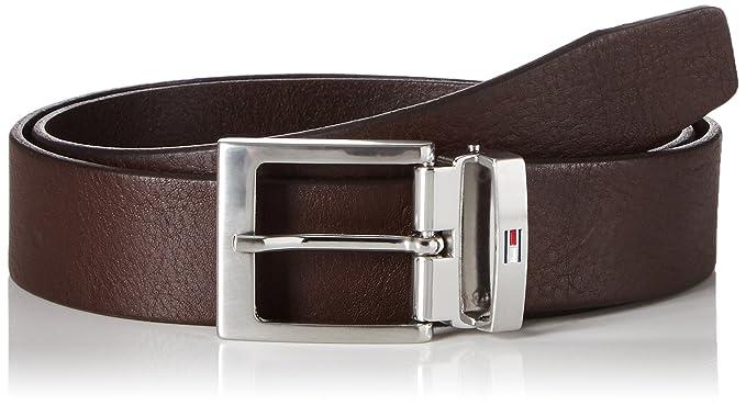 Tommy Hilfiger Adjustable Belt 3.5, Ceinture Homme, Marron (Testa Di Moro), 5a5d2158837