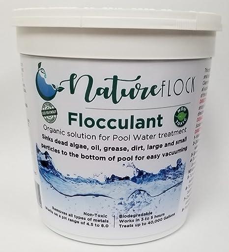 Nature Flock Tratamiento de Piscina de Agua no Tóxico ...