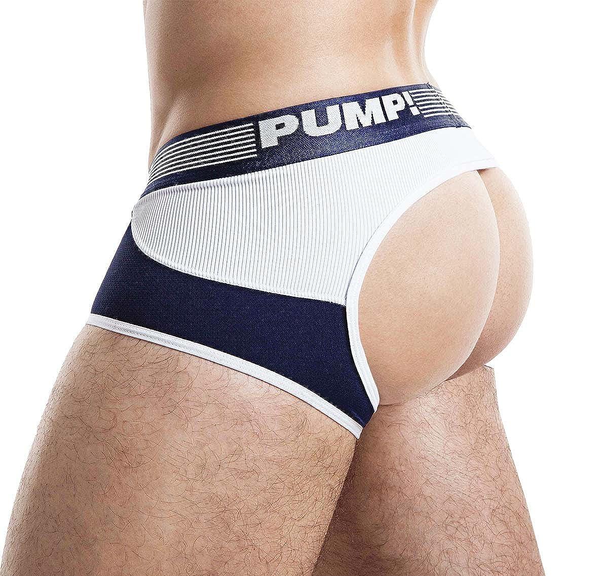 Navy PUMP Jockstrap Access Trunk 15031