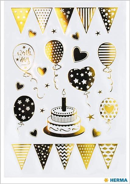HERMA 15560 Birthday Party - Pegatinas para niños, niñas ...