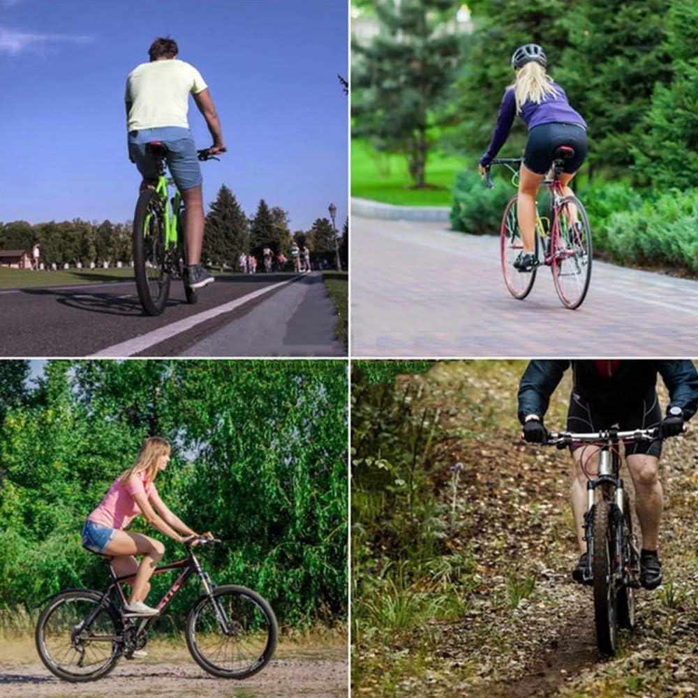 DKKLRR Bike Seat Shock Absorber Alloy Spring Steel Shock Absorber with Scale Adjustable Bicycle Saddle Suspension Device for Comfort Riding MTB Mountain Road Bike
