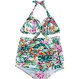 Tpulling Femmes push-up rembourrés soutien-gorge maillot Bikini [ maillot de bain femme 2 pieces ]