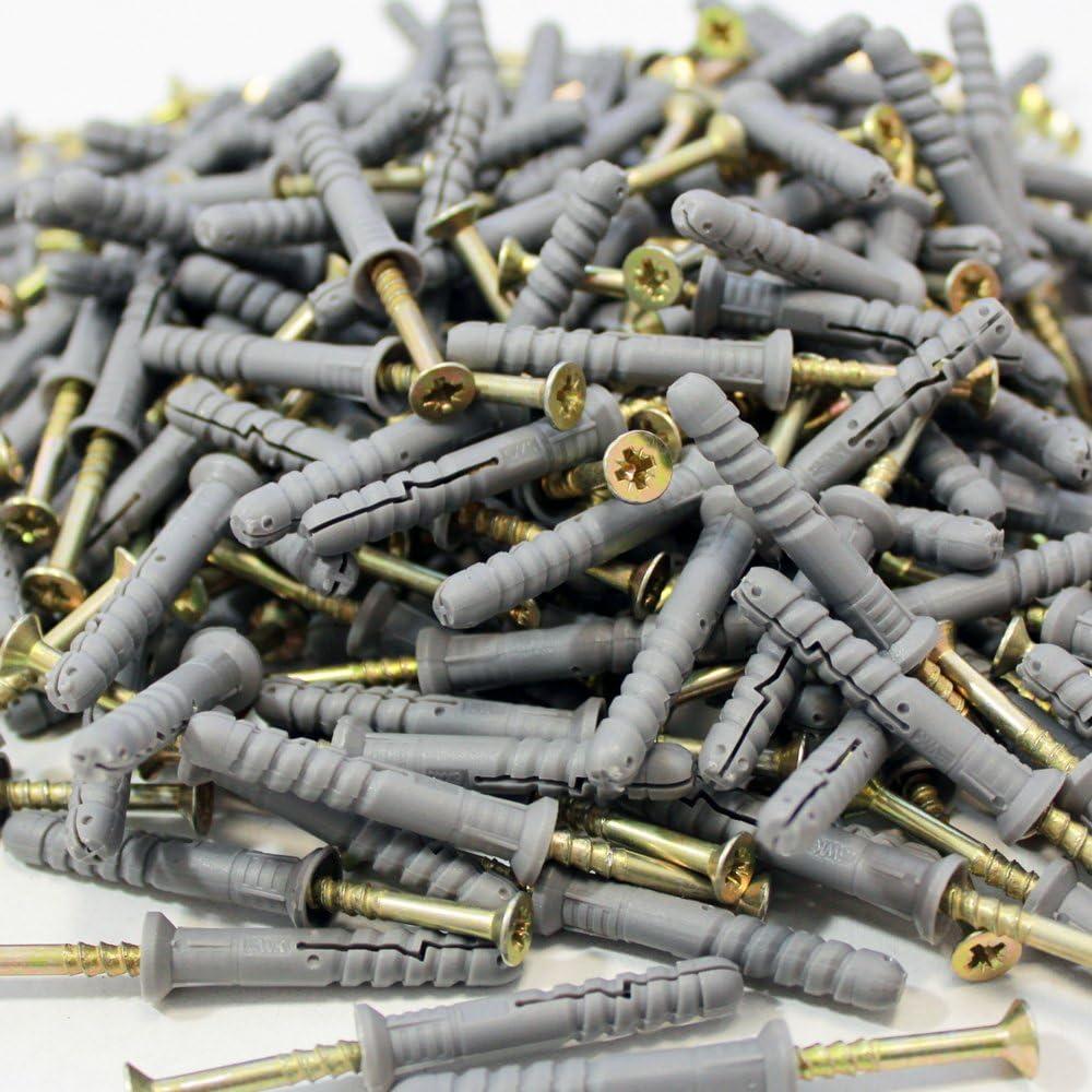 NAGELDÜBEL 6mm 8mm 10mm Schlagdübel Stahl Einschlagdübel Dübel Schnellmontage