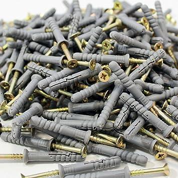 Schlagdübel 8 x 100 mm vormontiert 100 Stück Nageldübel