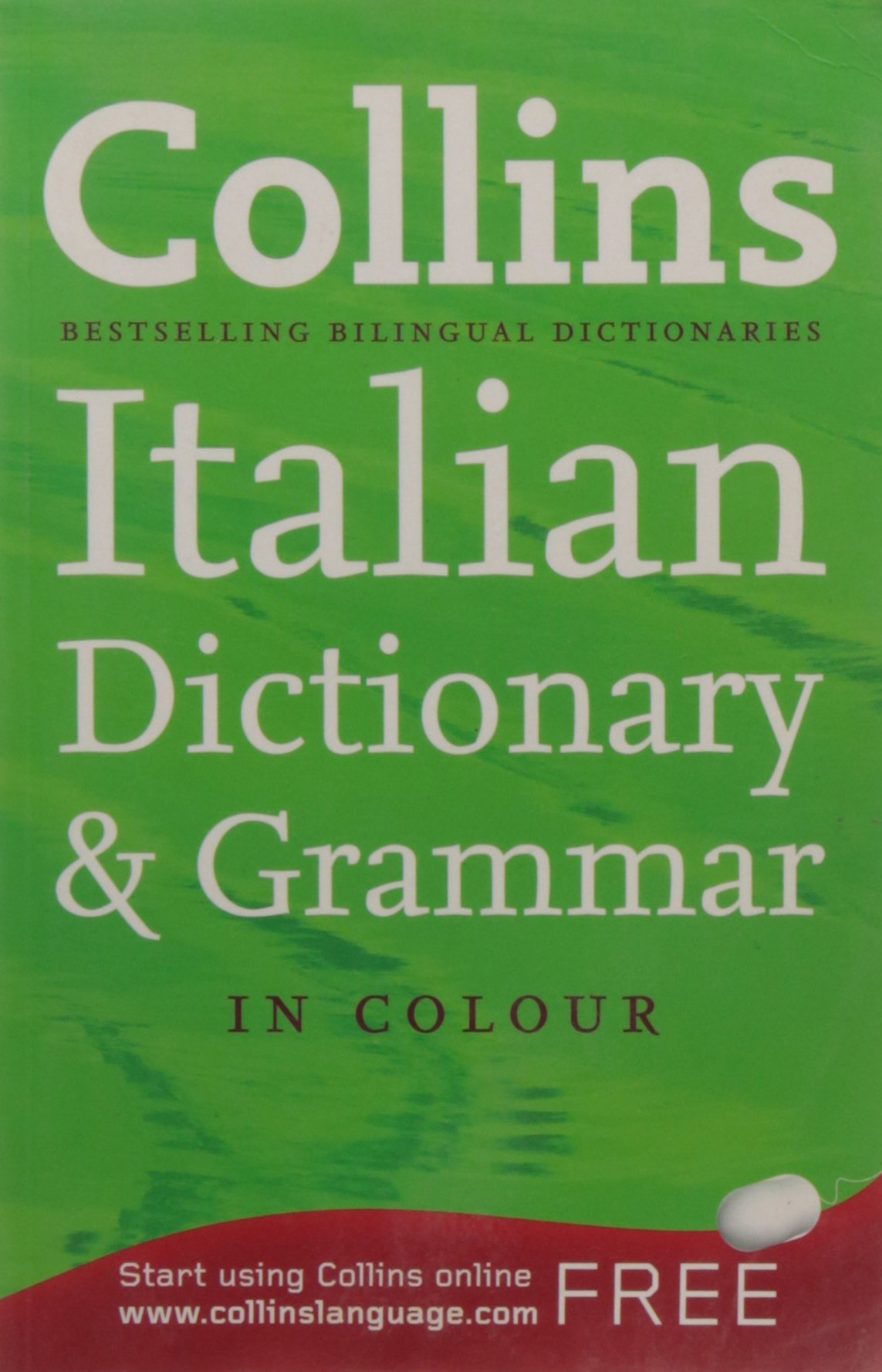 Collins Italian Dictionary and Grammar (Collins Dictionary and Grammar):  Amazon.co.uk: Collins Dictionaries: 9780007323180: Books