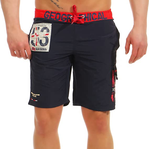 ae4088121e Geographical Norway - Maillot de Bain Quisky Marine: Amazon.fr ...