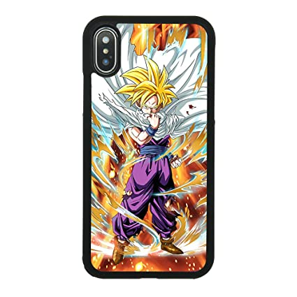 Amazon.com: Dragon Ball Z hijo Gohan funda para iPhone X ...