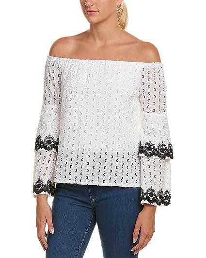 6fe95149f3e63 Amazon.com  Bailey 44 Women s Phlox Tiered Bell Sleeve Top  Clothing