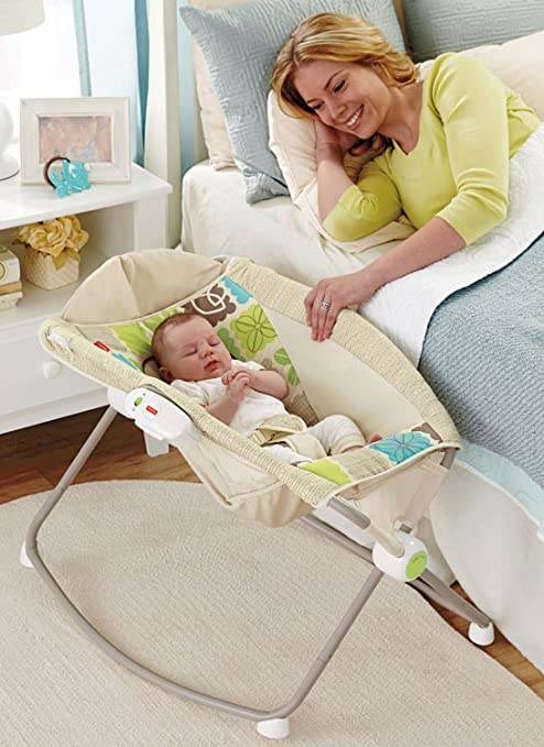 Fisher-Price Newborn Rock 'n Play Sleeper, Rainforest Friends