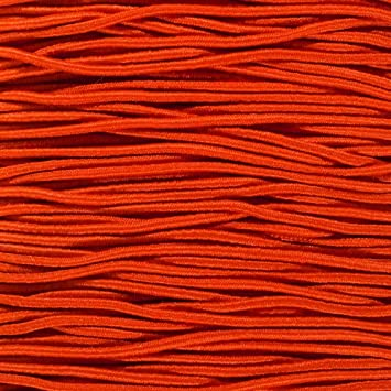 """PARACORD PLANET Elastic Bungee Nylon Shock Cord 2.5mm 1//32 3//16 3//8 1//16 1//4 5//16 1//8/"""" 1//2 inch Crafting Stretch String 10 25 50 /& 100 Foot Lengths Made in USA 5//8"""