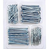 Hardware Nail Assortment Kit-200pcs Galvanized