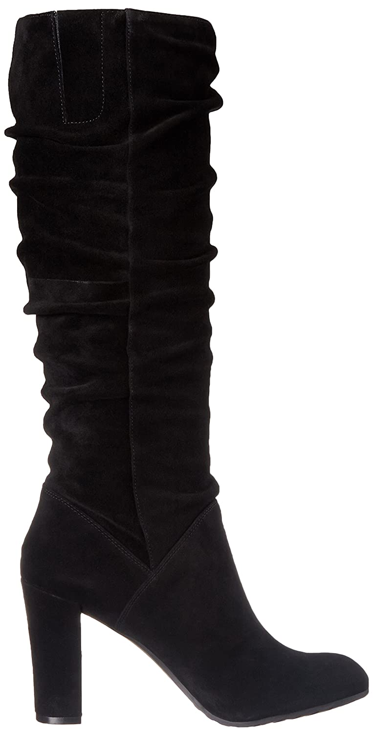 5cf11c3ed07 Amazon.com | Nine West Women's Shirly Suede Slouch Boot | Mid-Calf
