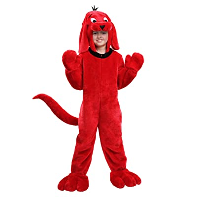 Clifford the Big Red Dog Kids Costume: Clothing
