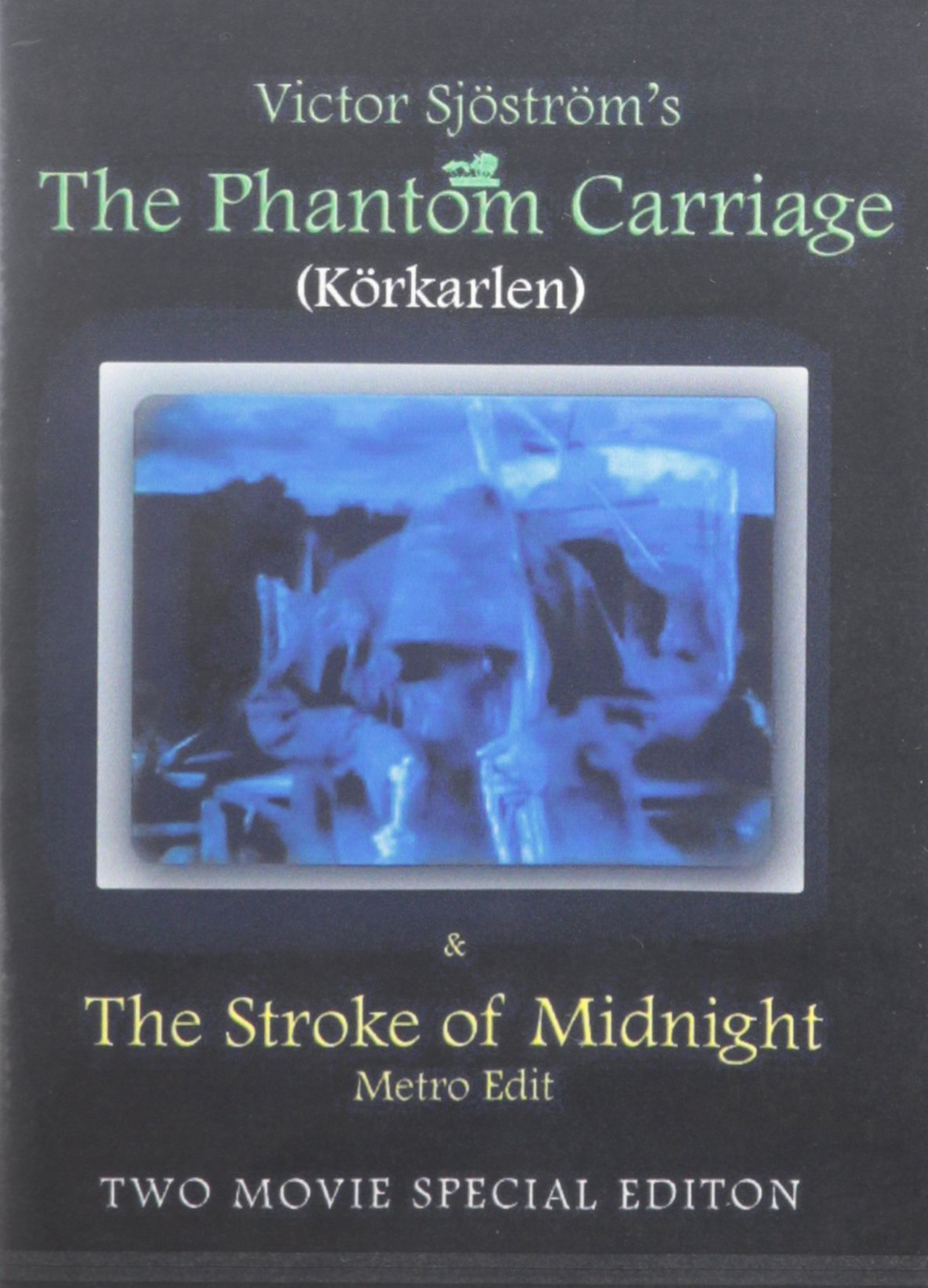 DVD : The Phantom Carriage (DVD)