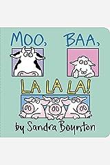 Moo, Baa, La La La! (Boynton Board Books) Board book