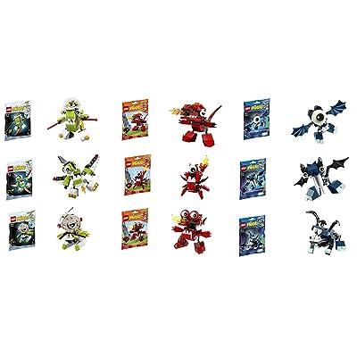 Lego Mixels Series 4 Complete Set of 9 Globert Vampos Boogly Meltus Flamzer Burnard Rokit Niksput Nurp-Naut: Toys & Games
